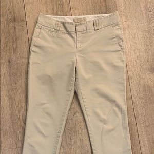 Classic chino cream color. You never have enough